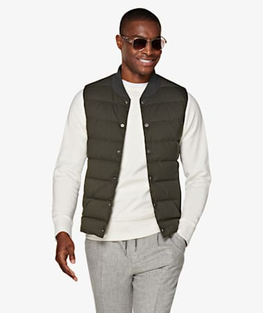 Green Bodywarmer