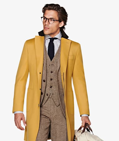 Jort Yellow Overcoat