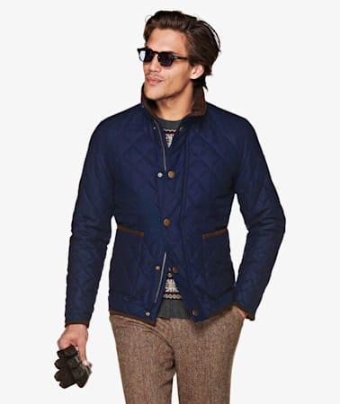 Jort Blue Padded Jacket