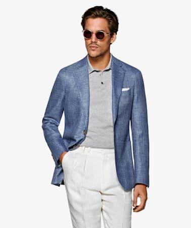 Jacket_Blue_Plain_Havana_C1207I