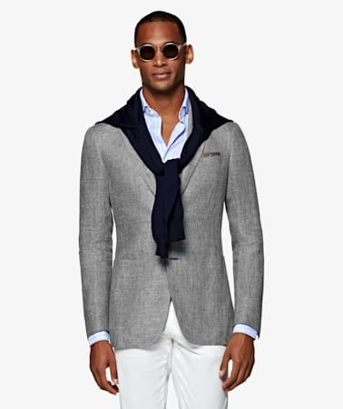 Havana Light Grey Jacket