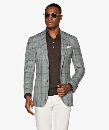 Jacket_Green_Check_Havana_C1303I