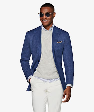 Jacket_Blue_Plain_Havana_C1313I