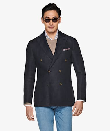 Jacket_Navy_Plain_Havana_C1327I
