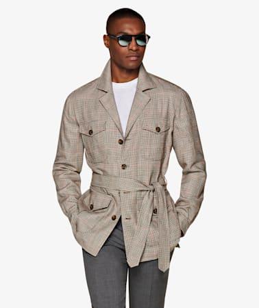 Brown Sahara Jacket