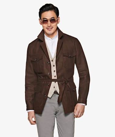 Brown Havana Jacket