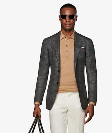 Jacket_Grey_Plain_Havana_C1336I