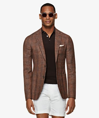 Brown Check Havana Jacket
