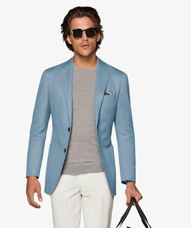 Havana Light Blue Jacket