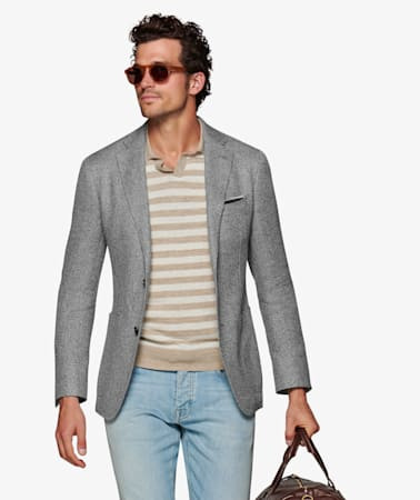 Grey Havana Jacket