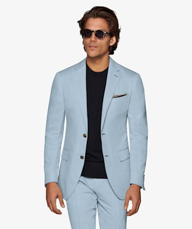 Light Blue Havana Suit