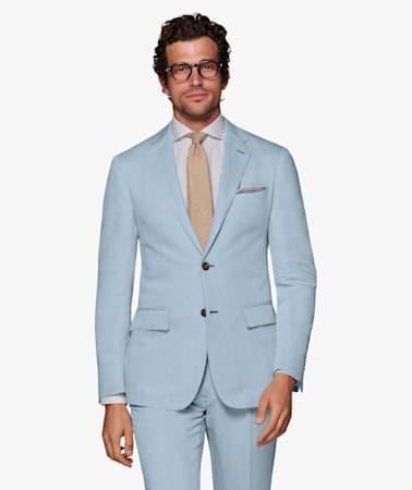 Light Blue Havana Jacket