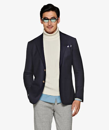 Jacket_Navy_Plain_Havana_C839HI