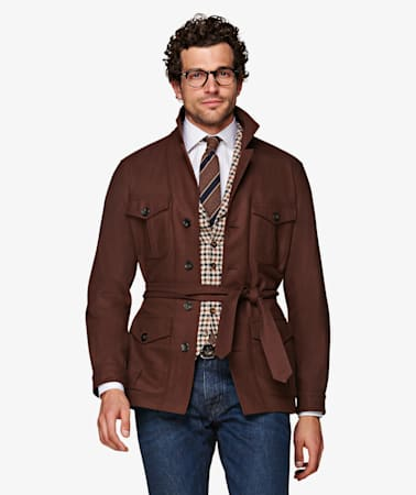 Brown Sahara Jacket