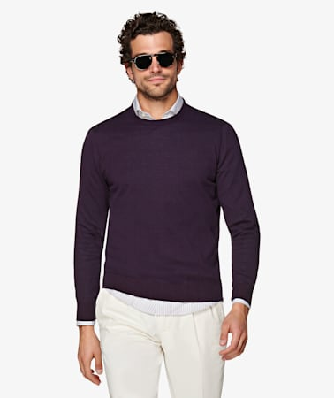 Purple Crewneck