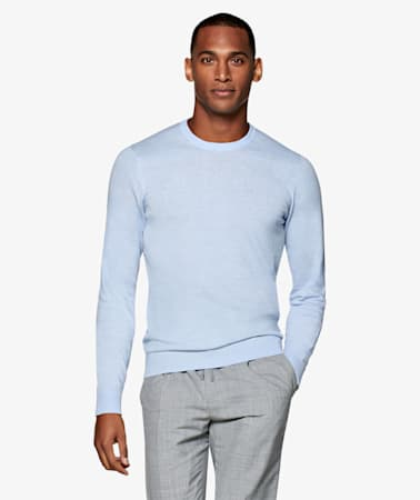 Light Blue Crewneck