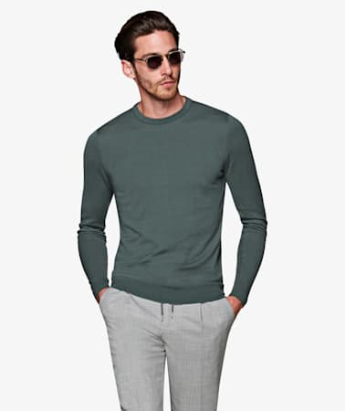 Mint Green Crewneck