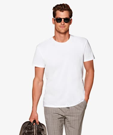 White_Crewneck_T-shirt_T-shirt_TS035