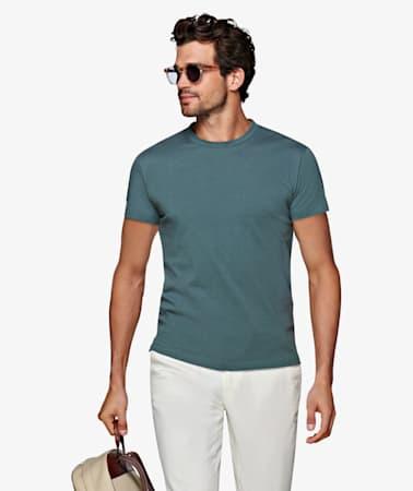 Mint Green Crewneck T-shirt