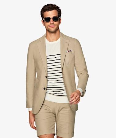 Jort Light Brown Suit