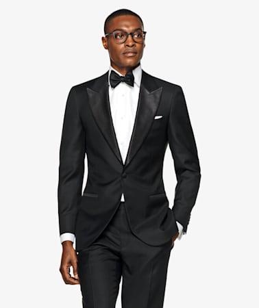 Lazio Black Tuxedo Suit