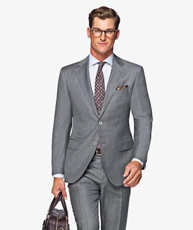 Suit_Grey_Plain_Napoli_P4296I