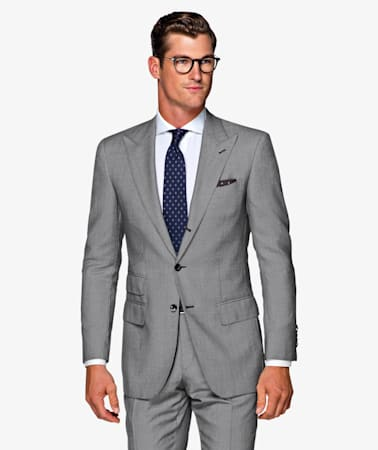 Washington Grey Bird's Eye Suit