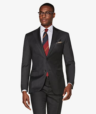Dark Grey Napoli Suit