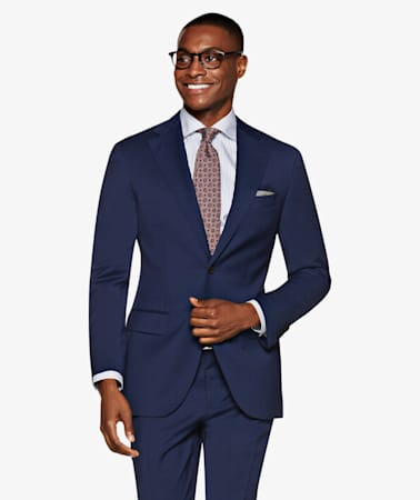 Mid Blue Napoli Suit