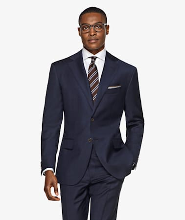 Navy Napoli Suit