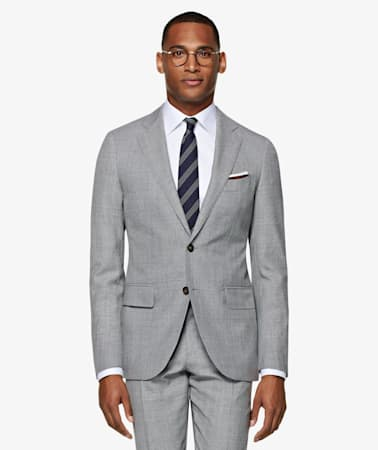 Lazio Light Grey Suit