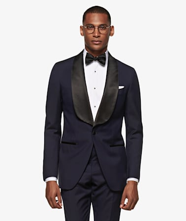 Navy Washington Tuxedo Suit
