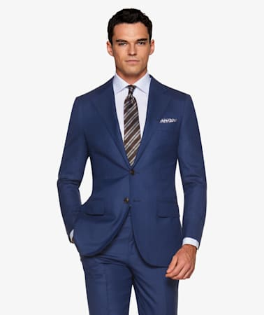 La Spalla Navy Suit