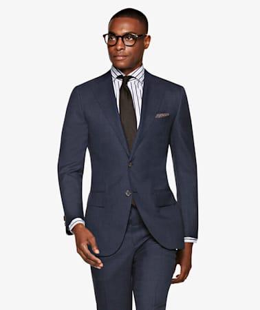 Suit_Navy_Plain_Lazio_P5444I