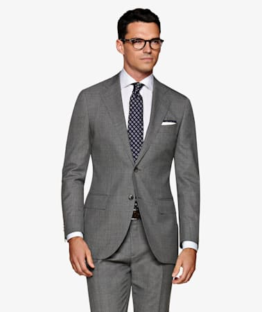 Suit_Mid_Grey_Plain_Lazio_P5450I