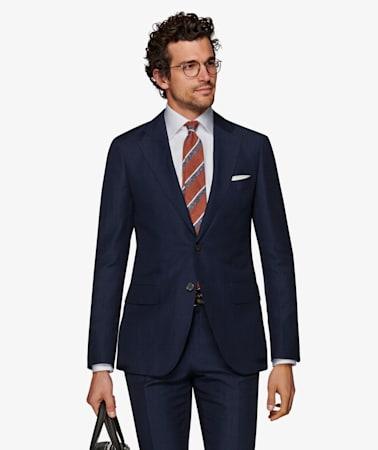 Suit_Navy_Plain_Lazio_P5454I