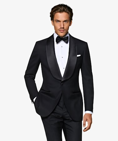 Black Washington Tuxedo Suit