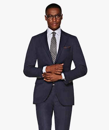 Sienna Navy Suit