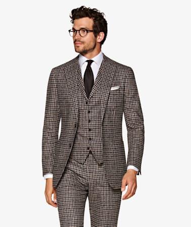 Suit_Mid_Brown_Check_Havana_P5540I