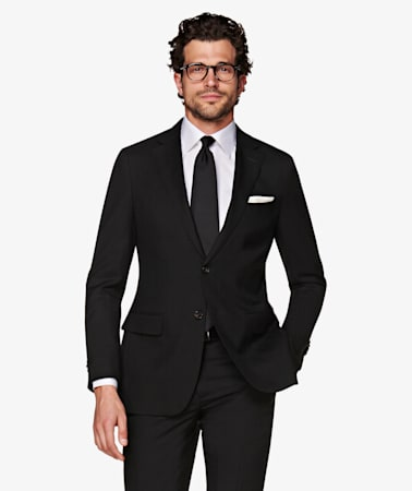 Sienna Black Suit