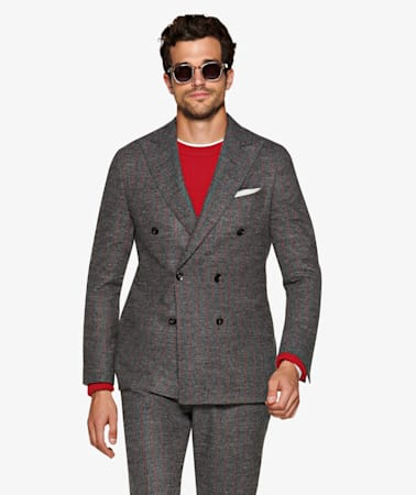 Havana Mid Grey Stripe Suit