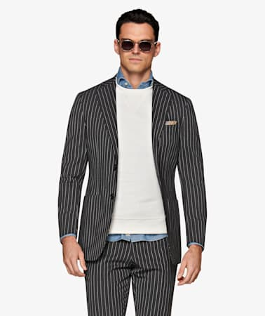 Havana Dark Grey Suit