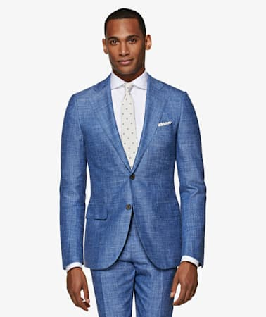 Lazio Light Blue Suit