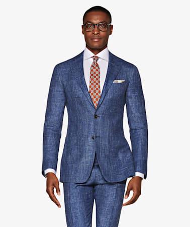 Lazio Mid Blue Suit