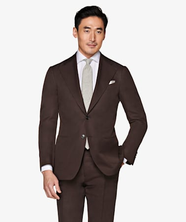 Suit_Brown_Plain_Havana_P5755I