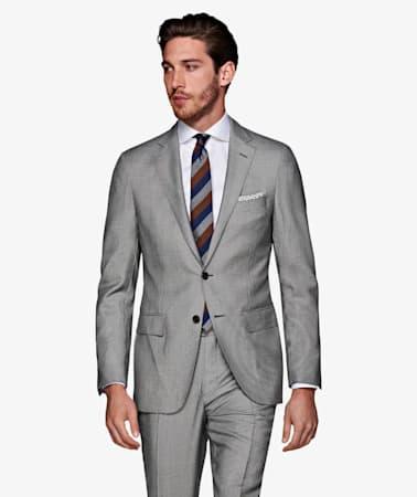 Sienna Mid Grey Bird's Eye Suit