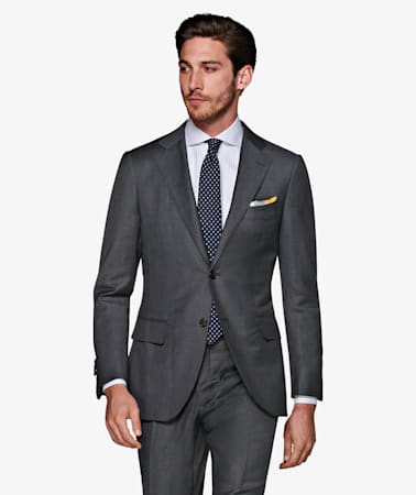 La Spalla Dark Grey Suit