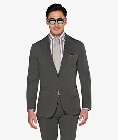 Suit_Dark_Green_Plain_Havana_P5792I