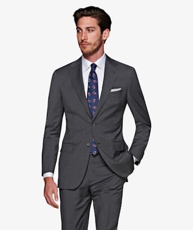 Napoli Mid Grey Stripe Suit