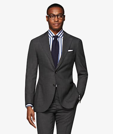 Jort Dark Grey Suit